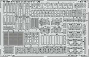 Eduard 481051 Blenheim Mk.I bomb bay AIRFIX 1/48