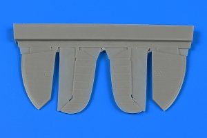 Aires 7349 Spitfire Mk.IX control surfaces early 1/72 Eduard