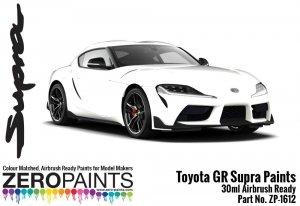 Zero Paints ZP-1612-WM Toyota GR Supra White Metallic Paint 30ml