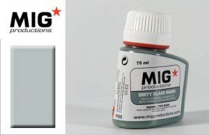 Mig Productions P303 Dirty Glass Wash 75ml