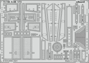 Eduard 73746 A-4B FUJIMI / HOBBY 2000 1/72