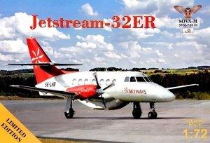 Sova 72010 JetStream-32ER Skyways SE-LHB 1/72