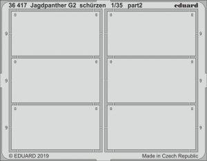 Eduard 36417 Jagdpanther G2 schurzen 1/35 TAKOM