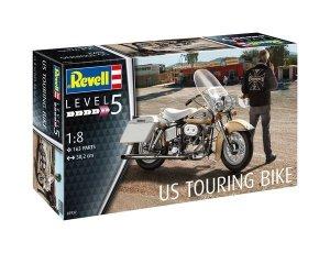 Revell 07937 U.S. Touring Bike Model Kit 1:8