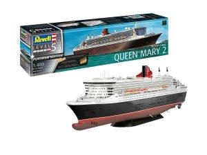Revell 05199 Ocean Liner Queen Mary 2 Platinum Edition 1/400