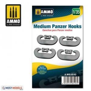 Ammo of Mig 8143 MEDIUM PANZER HOOKS 1/35