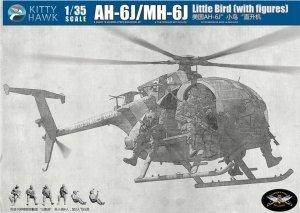 Kitty Hawk 50004 AH-6J/MH-6J Little Bird (with figures) (1:35)