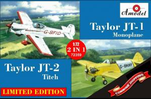 Amodel 72359 Taylor JT-1 Monoplane & Taylor JT-2 Titch 1/72