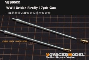 Voyager Model VBS0522 WWII British Firefly 17pdr Gun (GP) 1/35