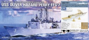 Pontos 38019F1 USS FFG Oliver Hazard Perr Class L.H. Detail Up Set Advanced with Kit 1/350
