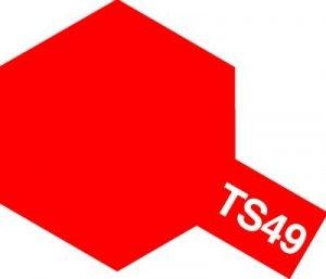 Tamiya TS49 Bright Red (85049)