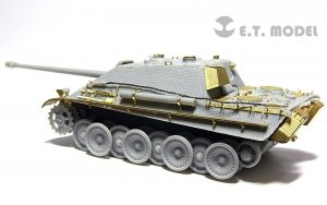 E.T. Model E72-011 WWII German Jagdpanther Early Production For DRAGON Kit 1/72