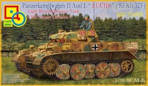 Classy Hobby MC16001 PzKpfw. II Ausf. L Luchs 9th Panzer Division