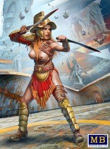 "Master Box 24056 Dimachaerus (master of two blades) Champion – ""Parselen"" AKA Helen Parsons 1/24"