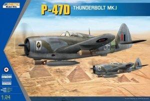 Kinetic K3212 P-47D Thunderbolt Mk.I 1/24