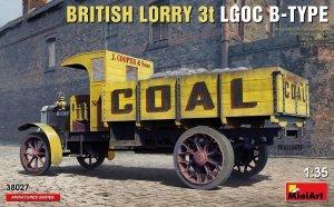 MiniArt 38027 BRITISH LORRY 3T LGOC B-TYPE 1/35