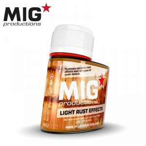 Mig Productions P412 LIGHT RUST EFFECTS (75ML)