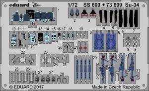 Eduard 73609 Su-34 TRUMPETER 1/72