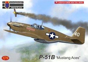"""Kovozavody Prostejov KPM0245 P-51B """"Mustang Aces"""" 1/72"""