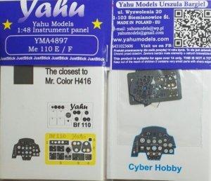 Yahu YMA4897 Me 110 E/F Cyber Hobby 1/48