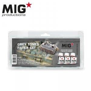 MIG Productions P266 Grey tones filter set (3x35ml)