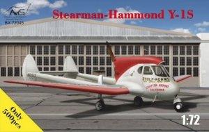 Avis 72045 Stearman-Hammond Y-1S 1/72
