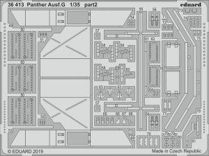 Eduard 36413 Panther Ausf. G 1/35 ACADEMY