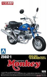 Aoshima 05869 Z50JZ-1 Honda Monkey Special Parts Takegawa 1/12