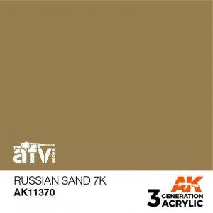 AK-Interactive AK 11370 Russian Sand 7K 17ml