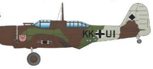 Special Hobby 72296 DB-8A-3N German Captured Marking 1/72