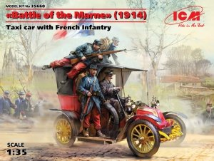 ICM 35660 Battle of the Marne (1914), Taxi car with French 1/35