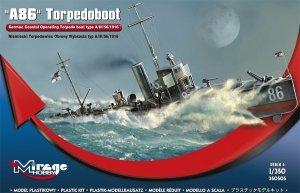 Mirage Hobby 350505 A86 Niemiecki Torpedowiec typu A/III/56/1916 1:350