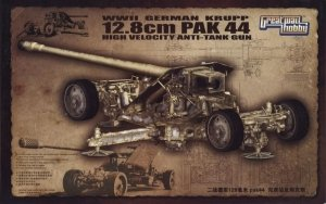 Great Wall Hobby L3526 WWII German Krupp 12.8cm Pak 44 1/35