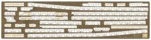 Hasegawa QG37 (72137) IJN Light Cruiser Agano Class Detail Up Parts Basic A 1/350