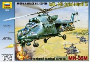 Zvezda 7276 Soviet atack helicopter MIL Mi-35 (1:72)
