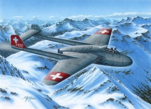 Special Hobby 72339 DH.100 Vampire Mk. I The First Jet Guardians of Neutrality 1/72