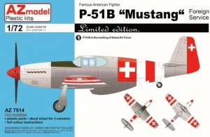 AZmodel AZ7514 P-51B Mustang Foreign services 1/72
