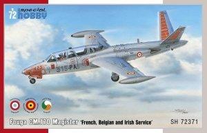 Special Hobby 72371 Fouga CM.170 Magister 'French, Belgian & Irish Service' 1/72