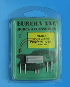 Eureka XXL ER-4802 Towing cable for Pz.Kpfw.VI Tiger Ausf.E Tank 1/48