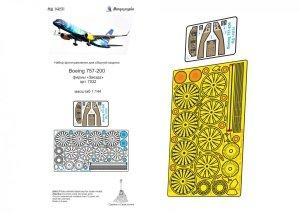 Microdesign MD 144231 Boeing 757-200 detail set Zvezda  1/144