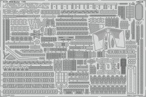 Eduard 53241 DKM Blücher TRUMPETER 1/350