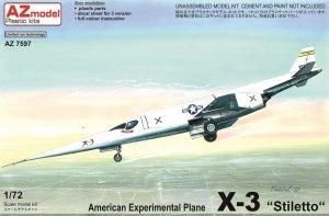 AZ Model AZ7597 X-3 Stilleto prototype (1:72)