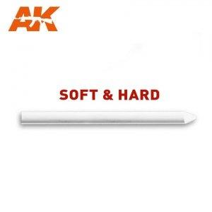 AK Interactive AK 4185 WHITE CHALK LEAD DETAILING PENCIL - HARD