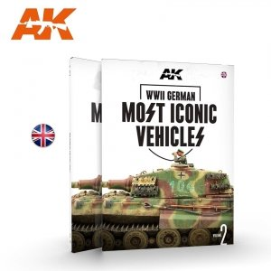 AK Interactive 516 WWII GERMAN MOST ICONIC SS VEHICLES. VOLUME 2