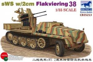 Bronco CB35213 sWS w/2 cm Flakvierling 38