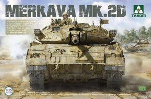 Takom 2133 Merkava 2D Israel Defence Forces Main Battle Tank 1/35