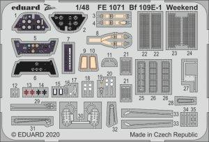 Eduard FE1071 Bf 109E-1 Weekend EDUARD