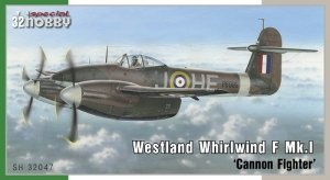 Special Hobby 32047 Westland Whirlwind F Mk.I 'Cannon Fighter' 1/32