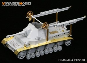 Voyager Model PEA130 WWII German Heuschrecke IVb Grasshopper Fenders (For DRAGON 6439) 1/35