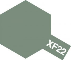 Tamiya XF22 RLM Grey (81722) Acrylic paint 10ml